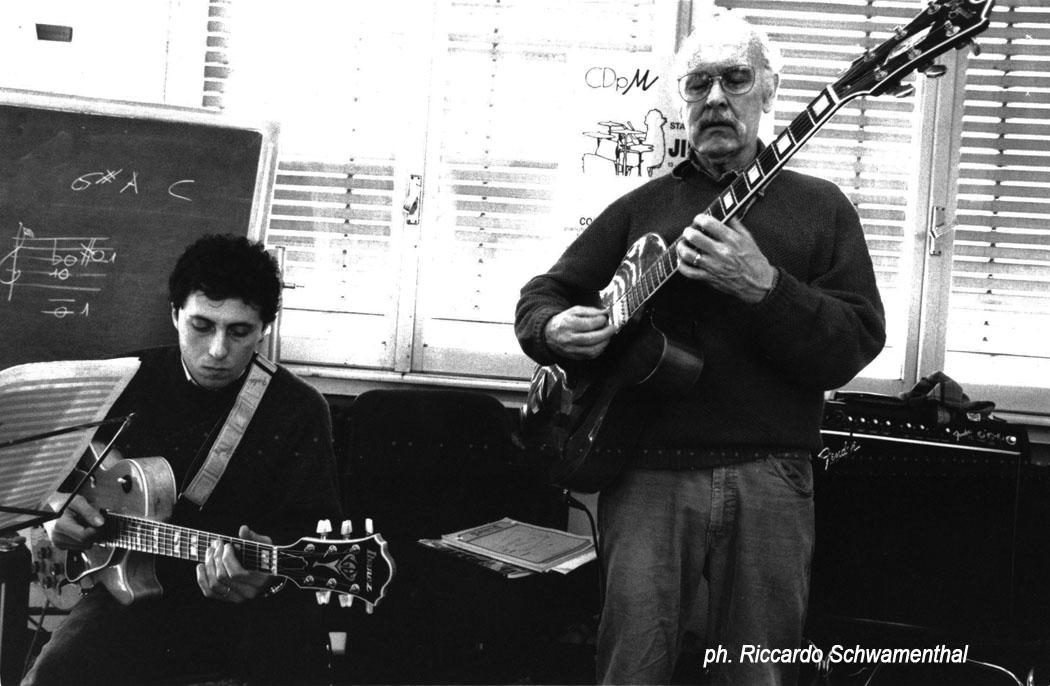 """Jim Hall al CDpM nel 1993, ovvero """"godere della reciproca compagnia musicale"""""""